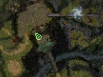 Carte de la quête: Aller voir le professeur Quin