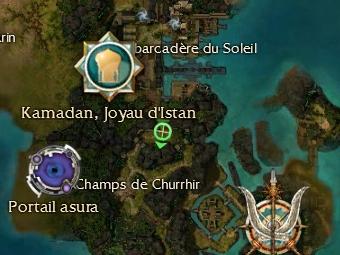 Carte de la quête: Préparatifs de bataille