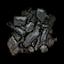 Morceau de charbon