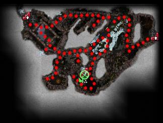 Carte générale - Abîmes des Batailles