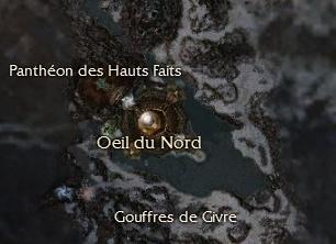 Carte générale - Oeil du Nord