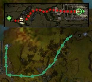 Carte de la quête: Le pouvoir du sang