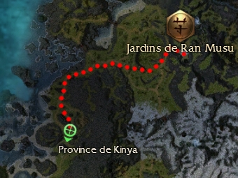 Carte de la quête: Avertissement aux Angchus