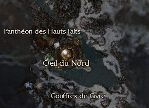 Carte générale - Panthéon des Hauts Faits