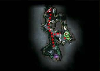 Carte de la quête: Fléau de destruction (Quête zaishen)