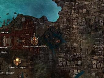 Carte générale - Appartements impériaux (Mission en mode coopératif)