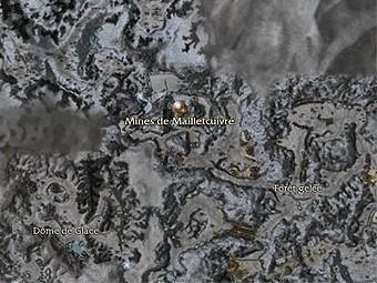 Carte générale - Mines de Mailletcuivré