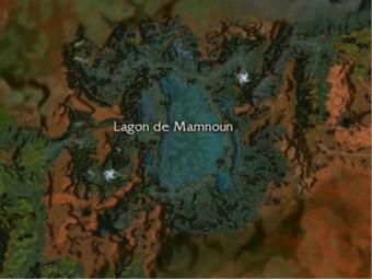 Carte générale - Lagon de Mamnoun