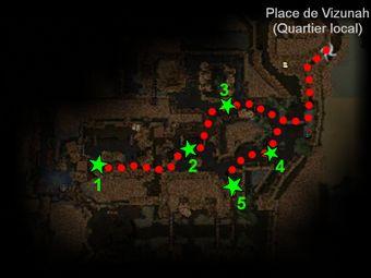 Carte de la quête: Purge de la Cité Souterraine