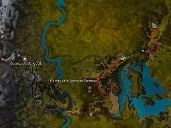 Carte de la quête: A l'aube de la rébellion