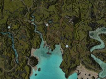 Carte détaillée - Porte du Lion