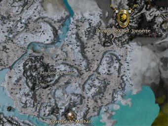 Carte générale - Caverne de Marhan