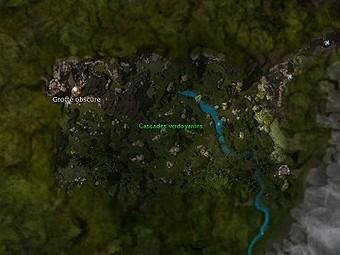 Carte générale - Cascades verdoyantes