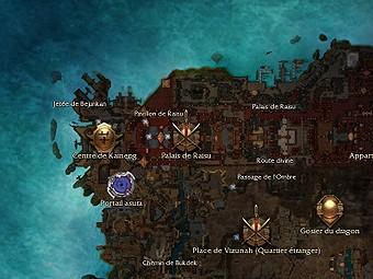 Carte générale - Palais de Raisu