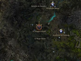 Carte générale - Le Verger Eternel (Mission en mode coopératif)