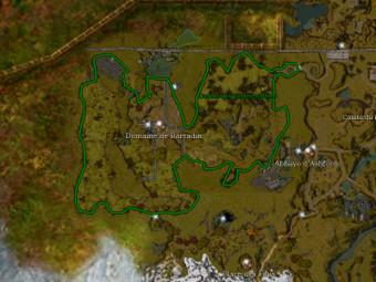 Carte générale - Comté des Vertes Vallées