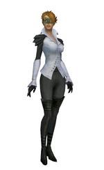 Armure d'Ascalon pour envoûteur (Femme) - Gris Face.jpg