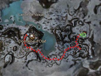 Carte de la quête: Une bonne action