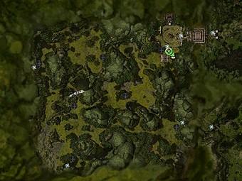 Carte détaillée - Pierres des Mages