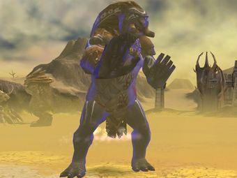 Ajamahn, Serviteur des sables
