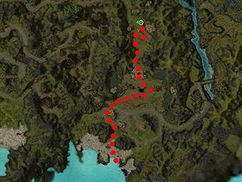 Carte de la quête: Avis de recherche: Zaln le blasé