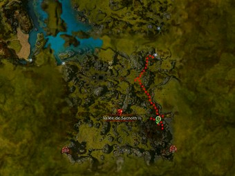 Carte de la quête: Borrguus Ecorscloc (Quête zaishen)