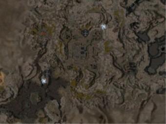 Carte détaillée - Corridor du Temple de la Flamme