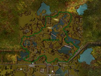 Carte générale - Les Terres du Nord