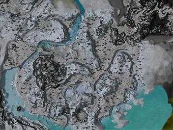 Carte détaillée - Banquise de Glace