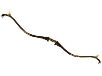 Arc long en bois d'érable