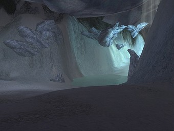 Caverne de glace de Lyssa