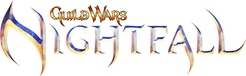 Fichier:Guild Wars Nightfall-logo.jpg