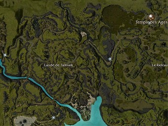Carte générale - Lande de Talmark
