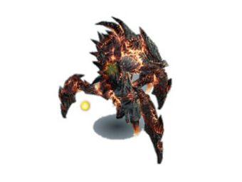 Titan brûlant miniature