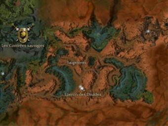 Carte générale - Saugeterres
