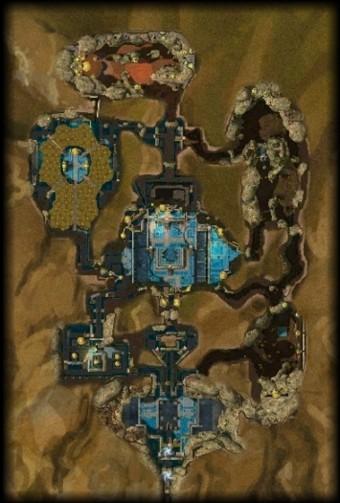 Carte générale - Cité cachée d'Ahdashim