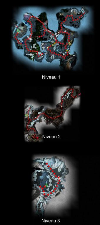 Carte générale - Galeries de Sombregivre