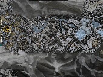 Carte détaillée - Mines de Fer de Moladune (Mission en mode coopératif)