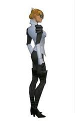 Armure d'Ascalon pour envoûteur (Femme) - Gris Droite.jpg
