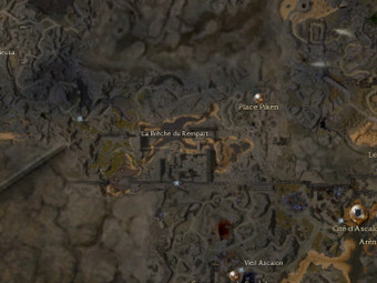 Carte générale - La Brèche du Rempart