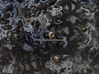 Carte générale - Campement de Gunnar