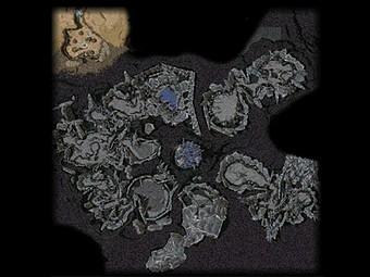 Carte détaillée - Antre du Dragon (Mission en mode coopératif)