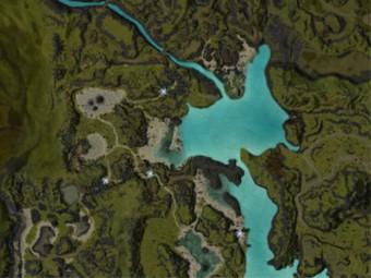 Carte détaillée - Larmes des Déchus