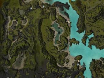 Carte détaillée - Côte de la Raie