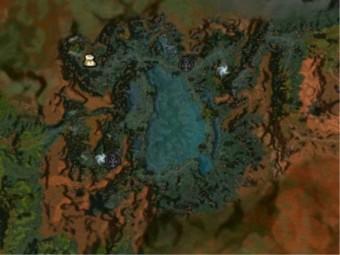 Carte détaillée - Lagon de Mamnoun