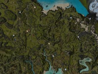 Carte détaillée - Kryte du Nord