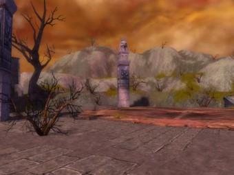 Corridor du Temple de la Flamme