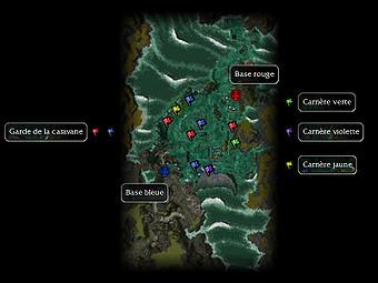 Carte de la quête: Carrière de Jade (Quête zaishen)