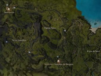 Carte générale - Plateau Nebo