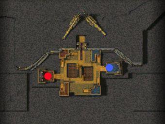 Carte générale - Portes dorées